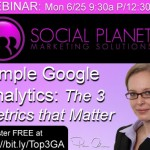 Simple Google Analytics: The 3 Metrics that Matter [WEBINAR]