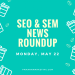 Search With Your Smartphone Camera, Google I/O, + More in This Week's SEO & SEM News Roundup