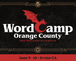 WordCamp Orange County 2018
