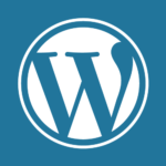 WordPress Logo on WordPress Support & Maintenance Services Page
