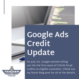 Google Ads COVID-19 Ad Credits for SMBs