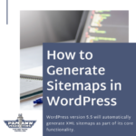 How to Generate an XML Sitemap in WordPress