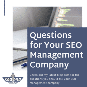 Questions to ask your SEO management company.