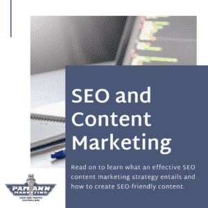 Creating an effective content marketing strategy.