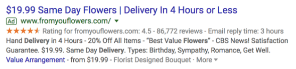 Including offer extensions is an important part of successfully using Google Ads.