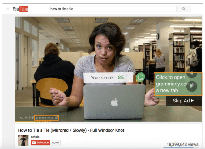 This is an example of how to use Google Ads to advertise with video ad campaigns.