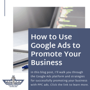 How to use Google Ads to promote your business.