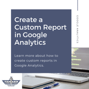 Create a custom reporting in Google Analytics.