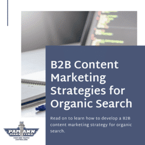 B2B content marketing strategies for organic search